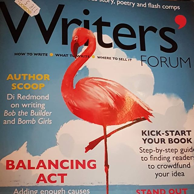Writers' Forum Magazine. I really enjoy the articles in this and had forgotten how useful a tool it is for writing. Whether you're an emerging, beginning or super established writer, there is something in this for you! Some lovely pick up and go writing prompts for creative writing or teaching writing to children or adults. . .