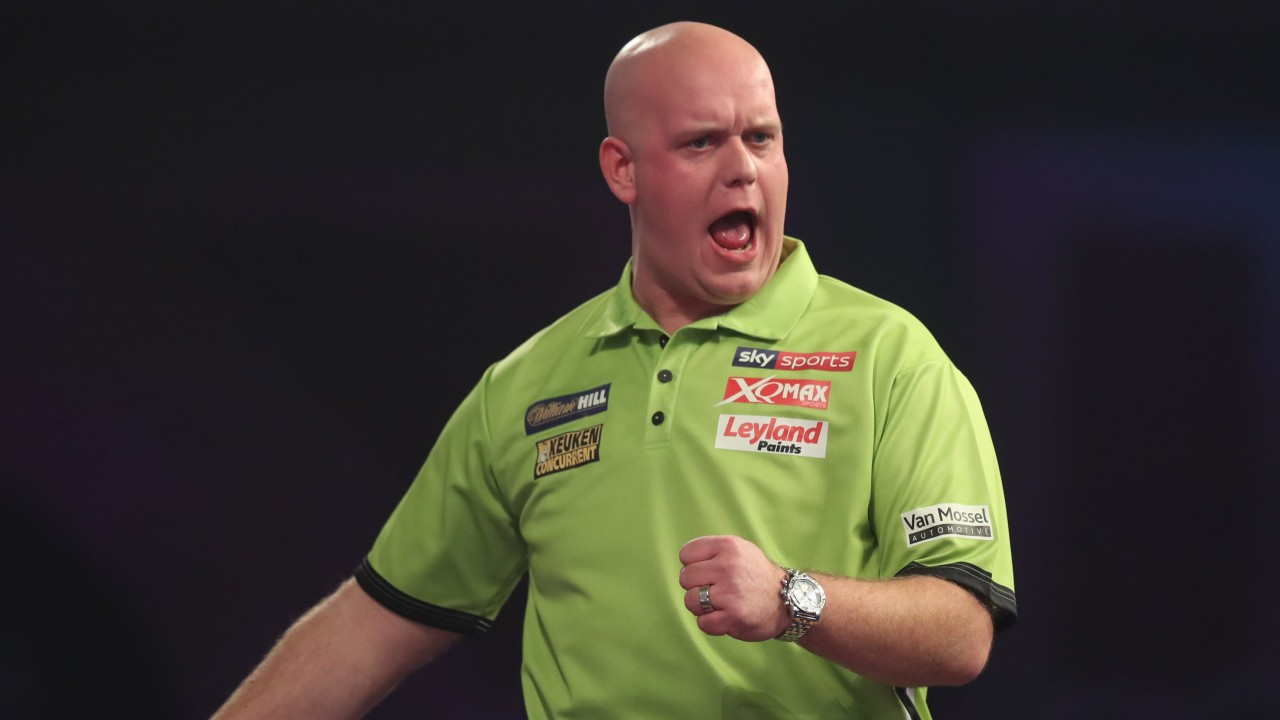 Image result for van gerwen