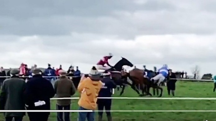Mikey Sweeney clings on to Ask Heather at Killeagh point-to-point