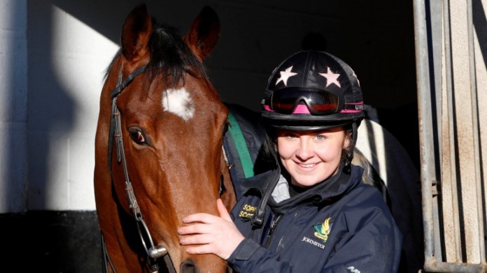 Sophy Scott: won the David Nicholson Newcomer Award at the 2019 Godolphin Stud and Stable Staff Awards back in February