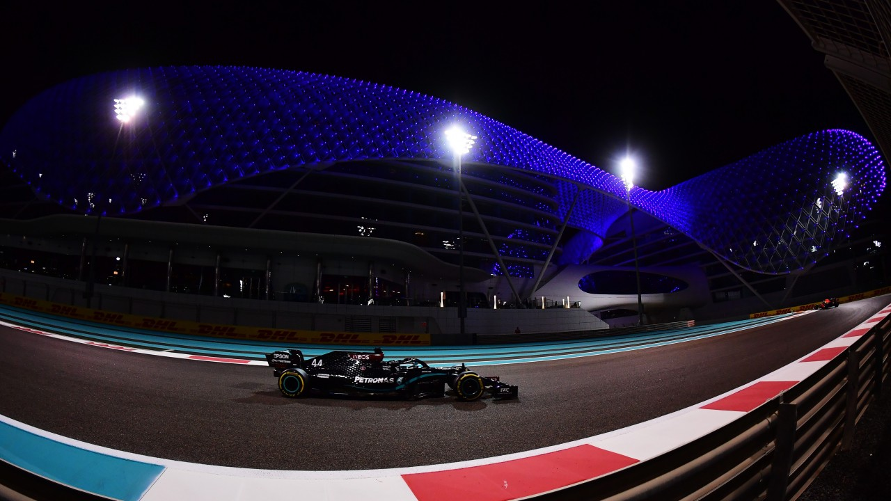 f1 abu dhabi grand prix qualifying