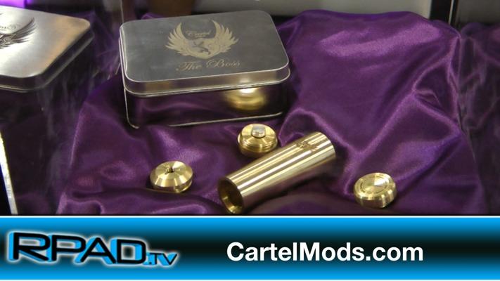 Cartel Mods Gino Litonjua ECC 2014 Brass Boss