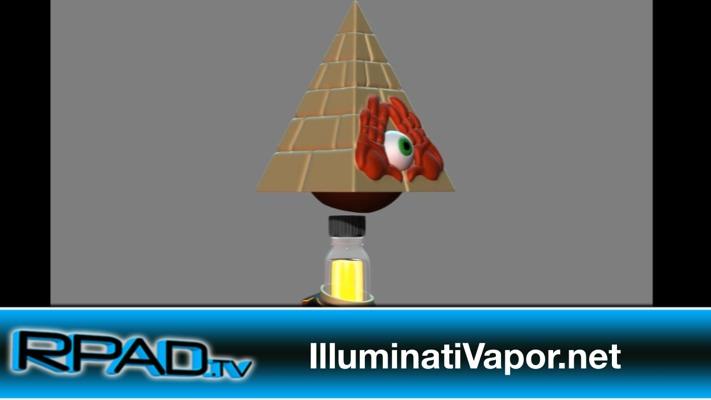 Illuminati Vapor Eyezzak Kaiju Monster Elixir ECC 2014