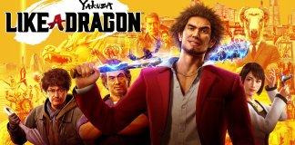 Yakuza like a dragon affiche