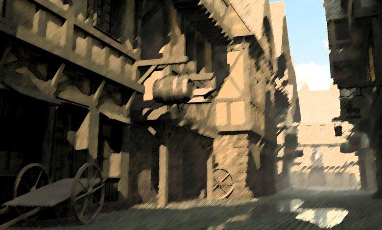 Imagem do podcast 2 da segunda fase de TESTE do RPG Next - Beco medieval