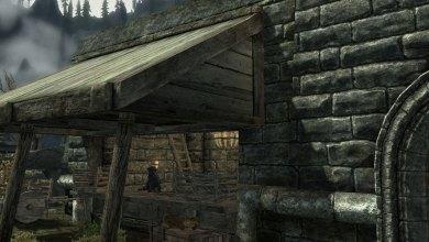 Faixada da Venda de Rua Lionshield - Imagem do Tarrasque na Bota 08 - A mina perdida de Phandelver - Episódio 8 - Reencontro com Rael