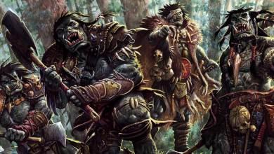 Orcs investindo no ataque - Imagem do Tarrasque na Bota 22 - A mina perdida de Phandelver - Episódio 22 - Batalha com Orcs