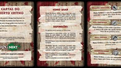 Photo of Cartas do Acerto Crítico para D&D 5e – Playtest 1