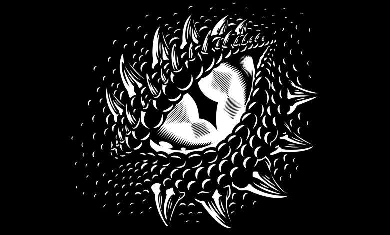 Olho de um dragão