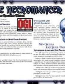 The Core Specialist: Necromancer