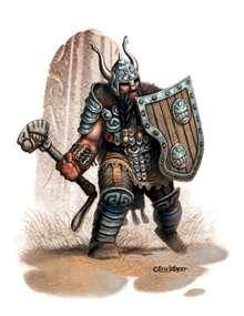 The Art of Eric Lofgren: Dwarf Warrior