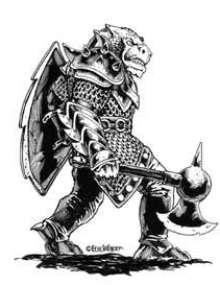 The Art of Eric Lofgren: Dragonman Warrior