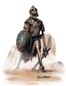 The Art of Eric Lofgren: Undead Warrior