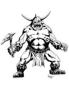 Earl Geier Presents: Monster Warrior