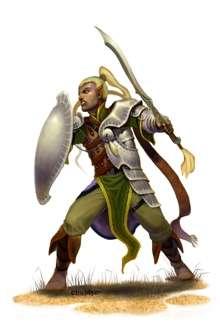 The Art of Eric Lofgren: Male Elf Fighter