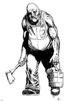 Earl Geier Presents: Axe Man