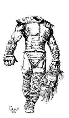 Earl Geier Presents: Headless Warrior
