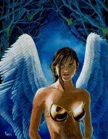 The Art of W Fraser Sandercombe: Angel