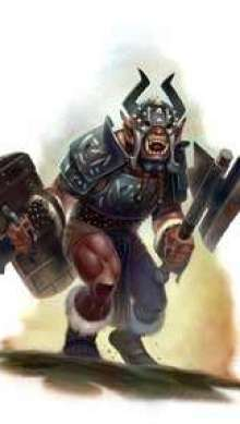 The Art of Eric Lofgren Orc Champion