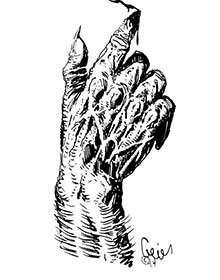 Earl Geier Presents: Blood Magic Hand Writing