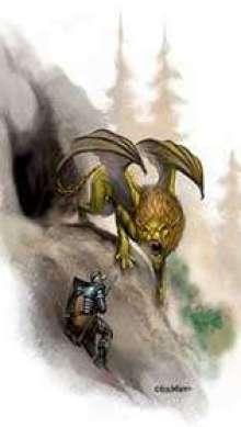 The Art of Eric Lofgren Dragonne Cave