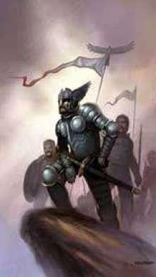 The Art of Eric Lofgren Warrior King
