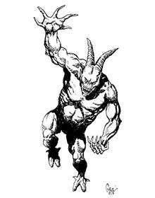 Earl Geier Presents: Clawed Demon