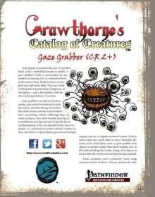 Crawthorne's Catalog of Creatures: Gaze Grabber for the Pathfinder RPG