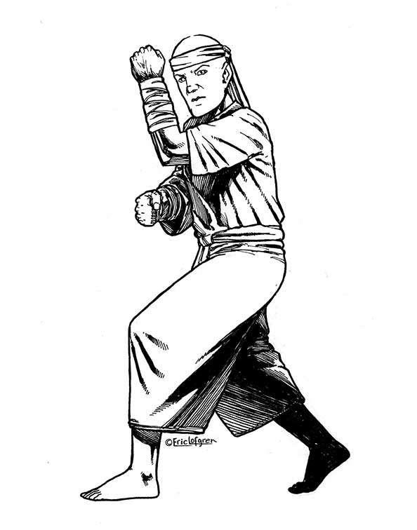 The Art of Eric Lofgren Martial Artist