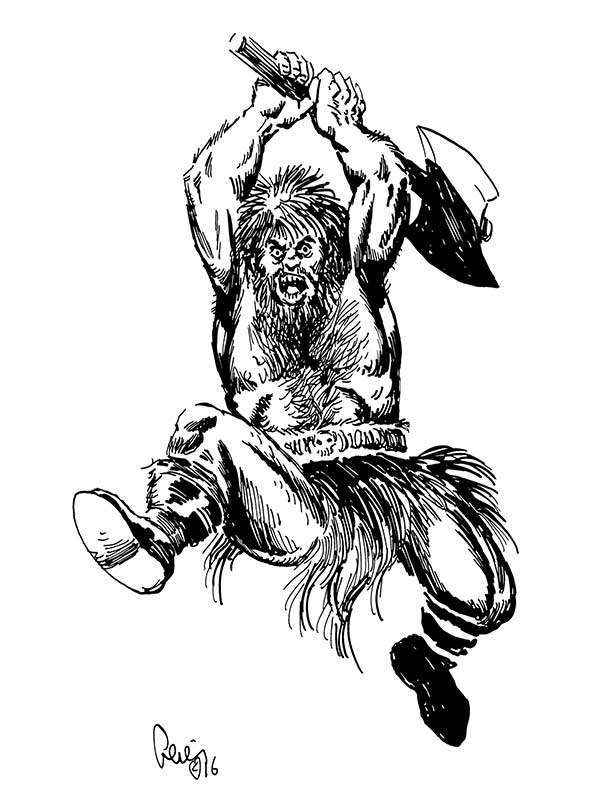Earl Geier Presents: Leaping Axeman