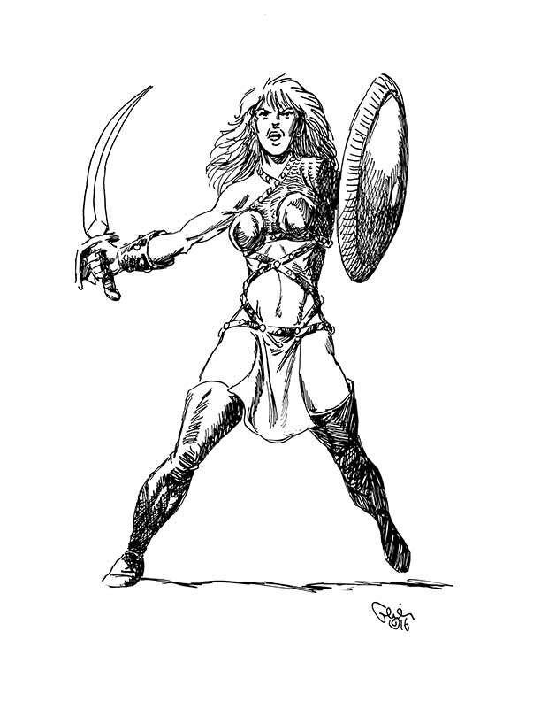 Earl Geier Presents: Fierce Warrior Woman