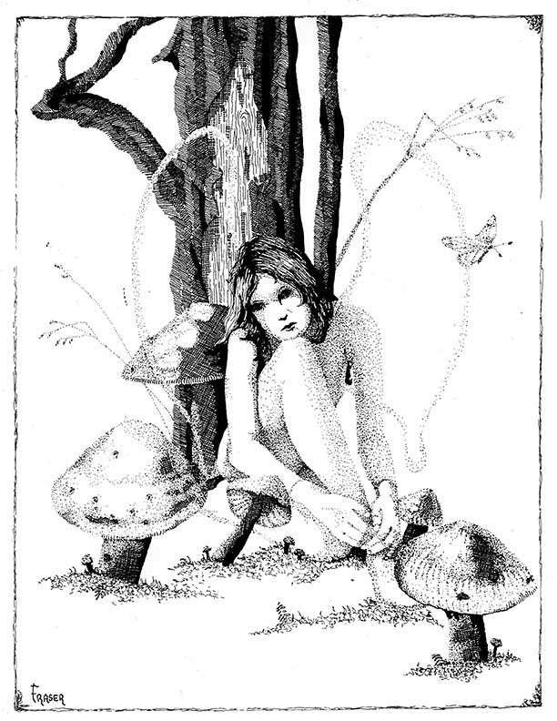 The Art of W Fraser Sandercombe: Deep Thinking Fairy