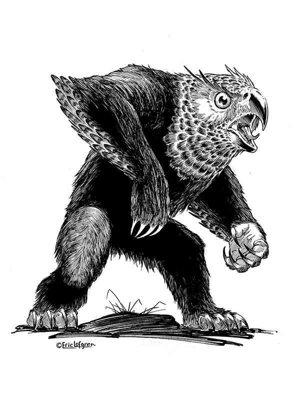 The Art of Eric Lofgren Owlbear
