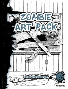 Scott Harshbarger Zombie Art Pack