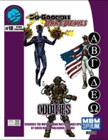 M&M Superlink Do-Gooders & Daredevils: Oddities