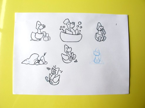 Ilustrações para trabalho.