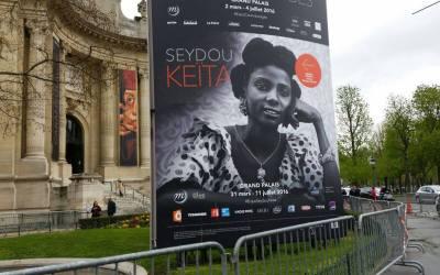 Photographie: le grand palais de Paris rend hommage à Seydou Keita l'artiste