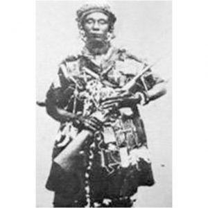 La reine Ashanti Yaa Asantewaa