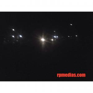Eclairage nocturne à Bla