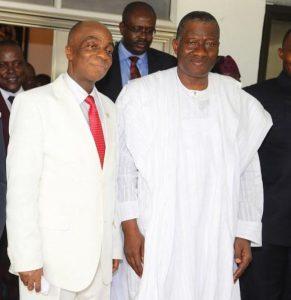 David Oyedepo et le président GoodLuck