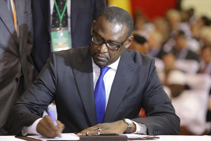 le ministre Abdoulaye DIOP signataire d el'accord de réadmission UE-Mali