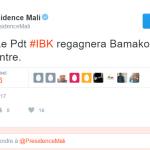 La santé de IBK