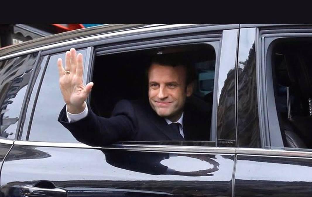 Président Emmanuel  Macron: les français veulent voir le bonheur «En marche»