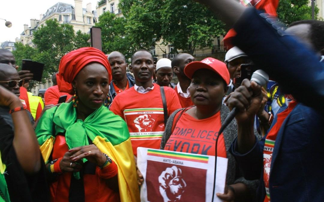 Marche des maliens de France pour le retrait pure et simple du projet de révision de la constitution