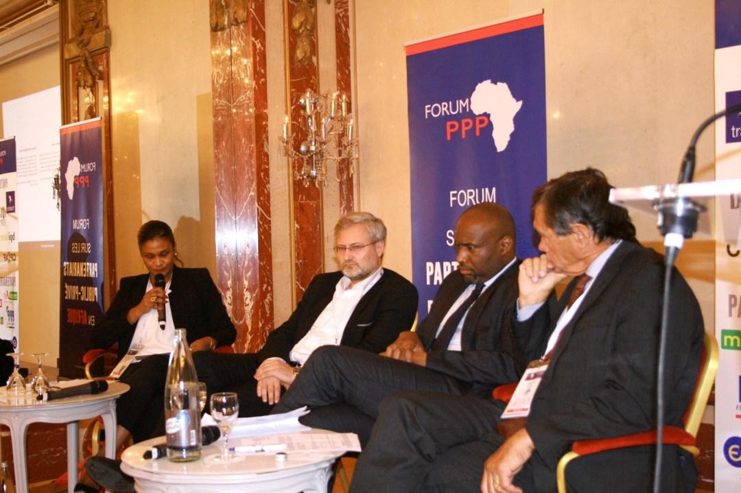 Moussa MARA internant au forum sur les PPP en Afrique