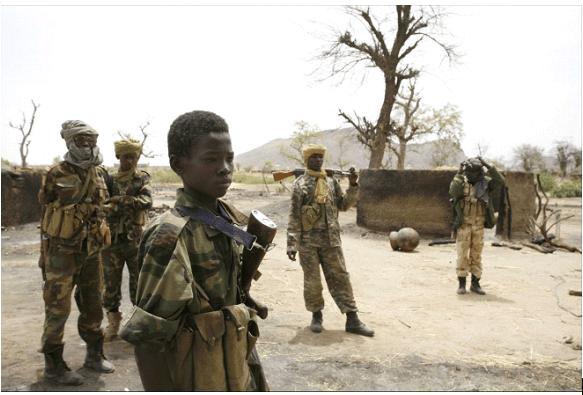 Enfants dans le conflit malien