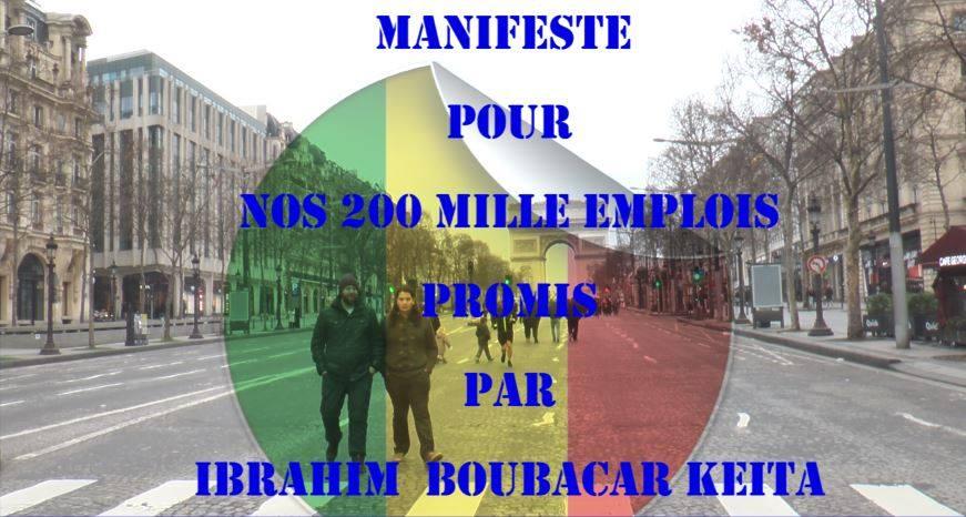 Mali: manifeste pour réclamer les 200 mille emplois promis par IBK