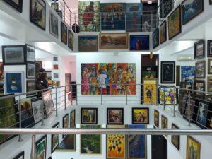Le tourisme en Afrique de l'ouest : Lagos, Accra et Abidjan (La Nike art gallery à Lagos)
