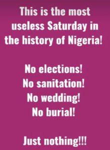 Report des élections présidentielles au Nigéria