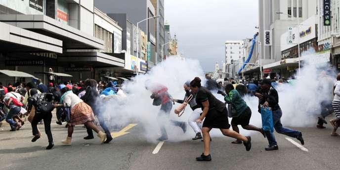La négrophobie en Afrique du sud : les attaques contre les immigrés